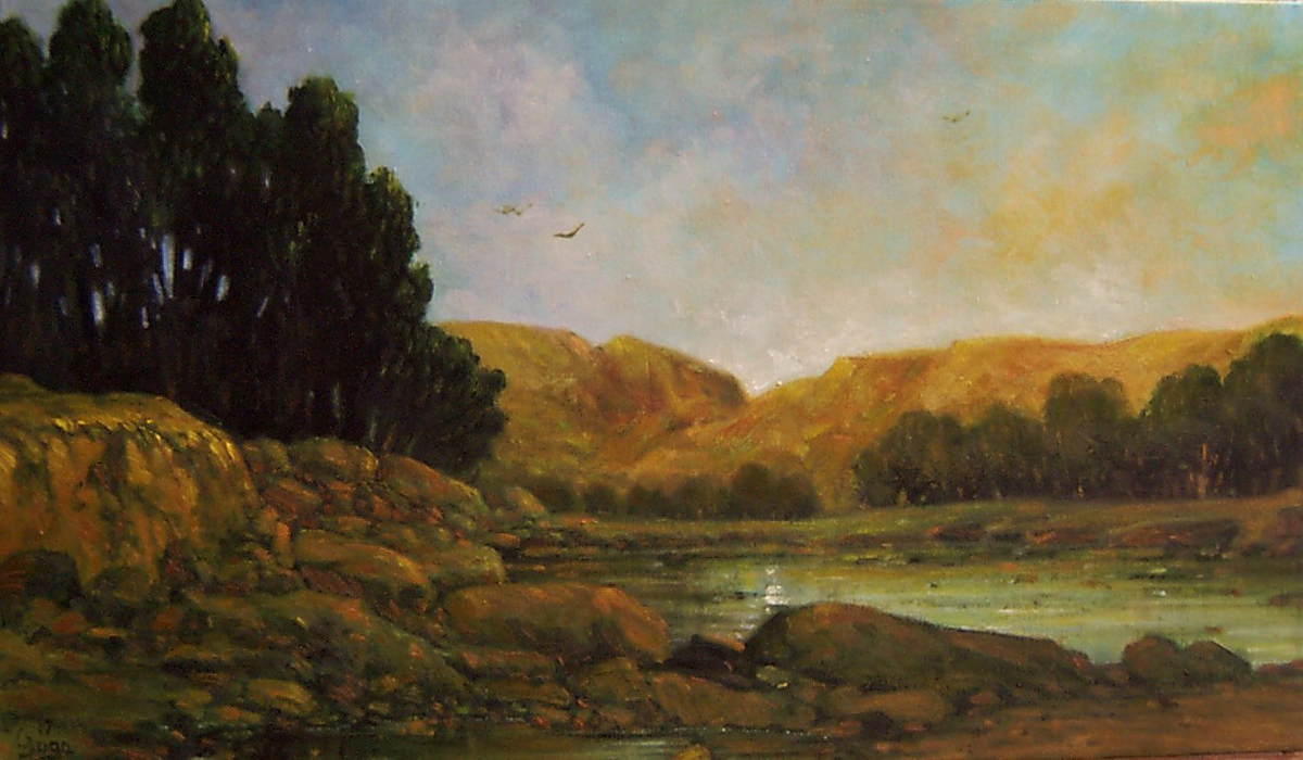 1638.---Lugares--60x30 Antonio Yuga