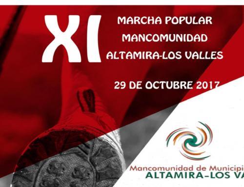 Abierto el plazo de inscripción para la XI Marcha Popular de la Mancomunidad de Municipios Altamira-Los Valles, que se celebrará el próximo domingo  29 de octubre