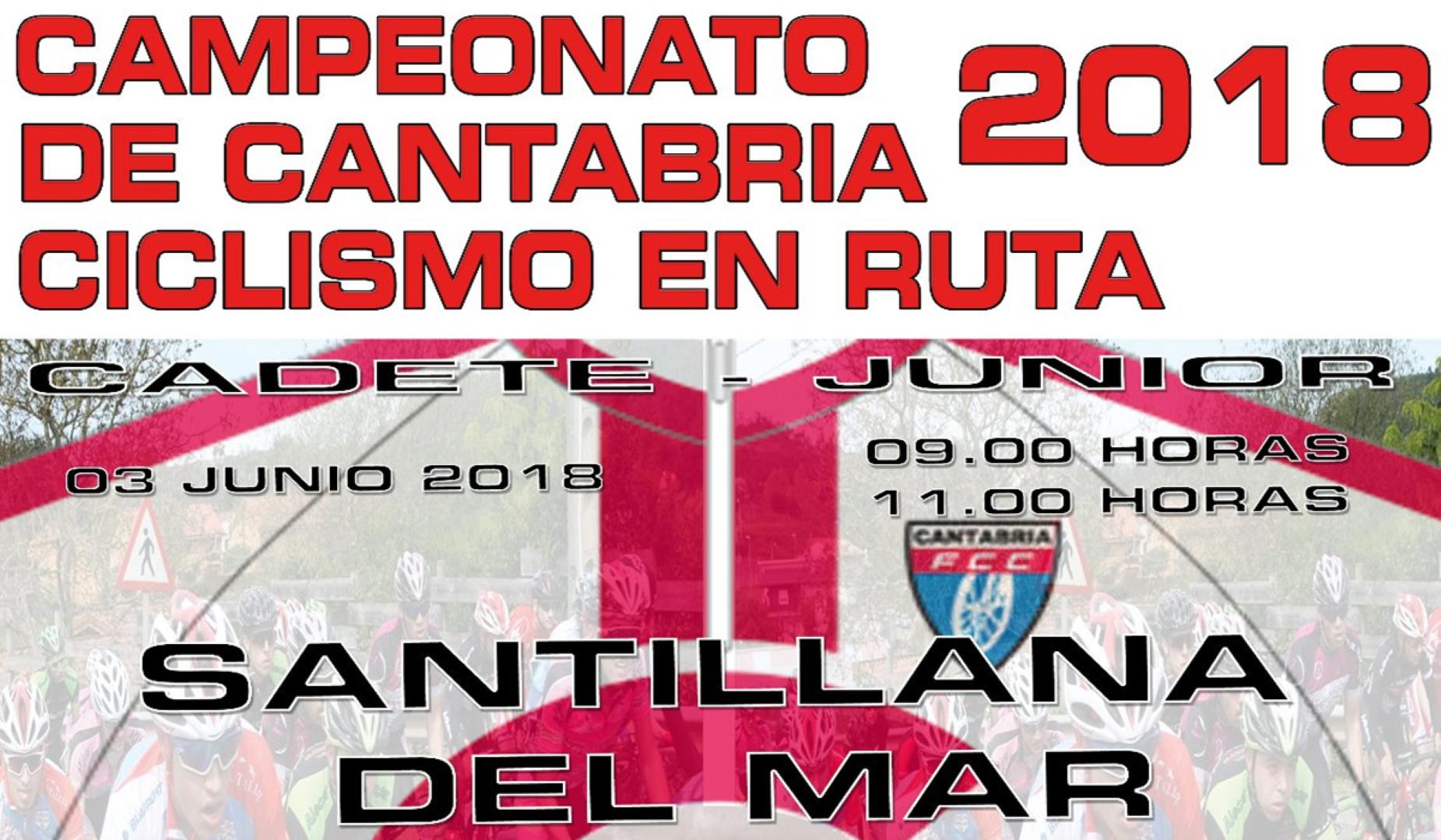 Campeonato de Cantabria ciclismo en Ruta 2018