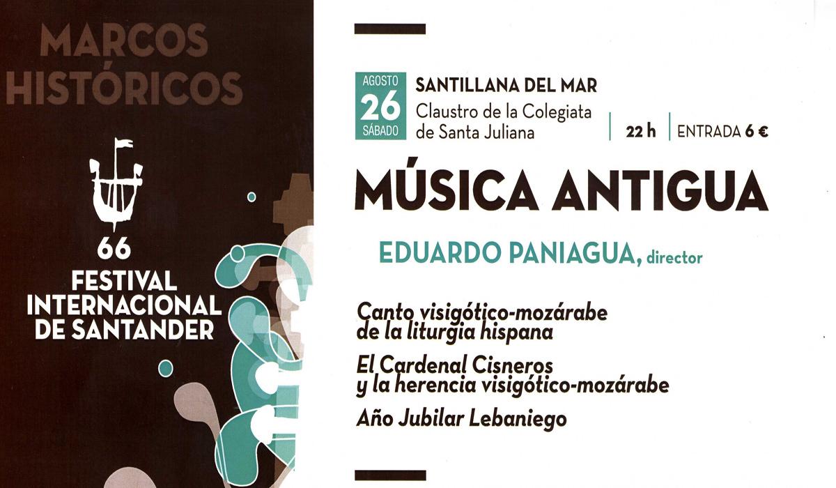 festival internacional de Santander - musica antigua