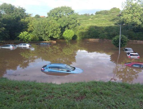 El ayuntamiento de Santillana del Mar intensifica las gestiones para la subsanación de los daños producidos por la tromba de agua.