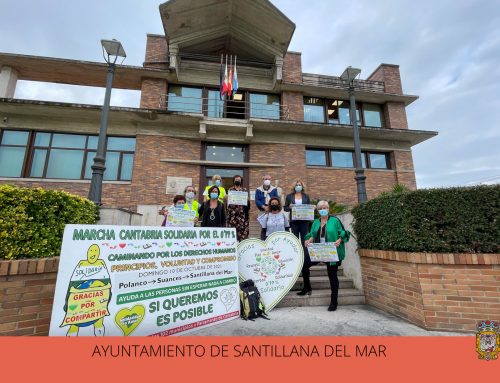 La Marcha Cantabria solidaria por 0,77% apela a la solidaridad de los vecinos de Polanco, Suances y Santillana del Mar