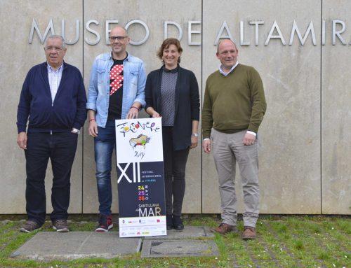 El museo Altamira, testigo de lujo de la presentación de la XII edición del festival internacional de títeres de Santillana del Mar.
