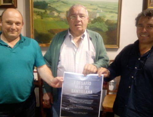 """El I Desafío """"Por el mar de Santillana"""" se celebra este sábado con la presencia de David Meca y """"Quimbo"""" Vallejo."""