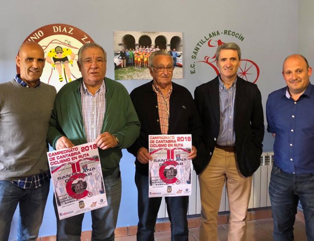 Santillana del Mar acogerá el campeonato de Cantabria de ciclismo en ruta 2018