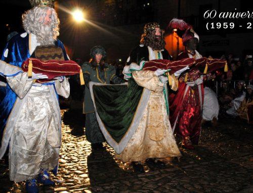La Cabalgata de Reyes de Santillana del Mar celebrará este año su 60ª edición.