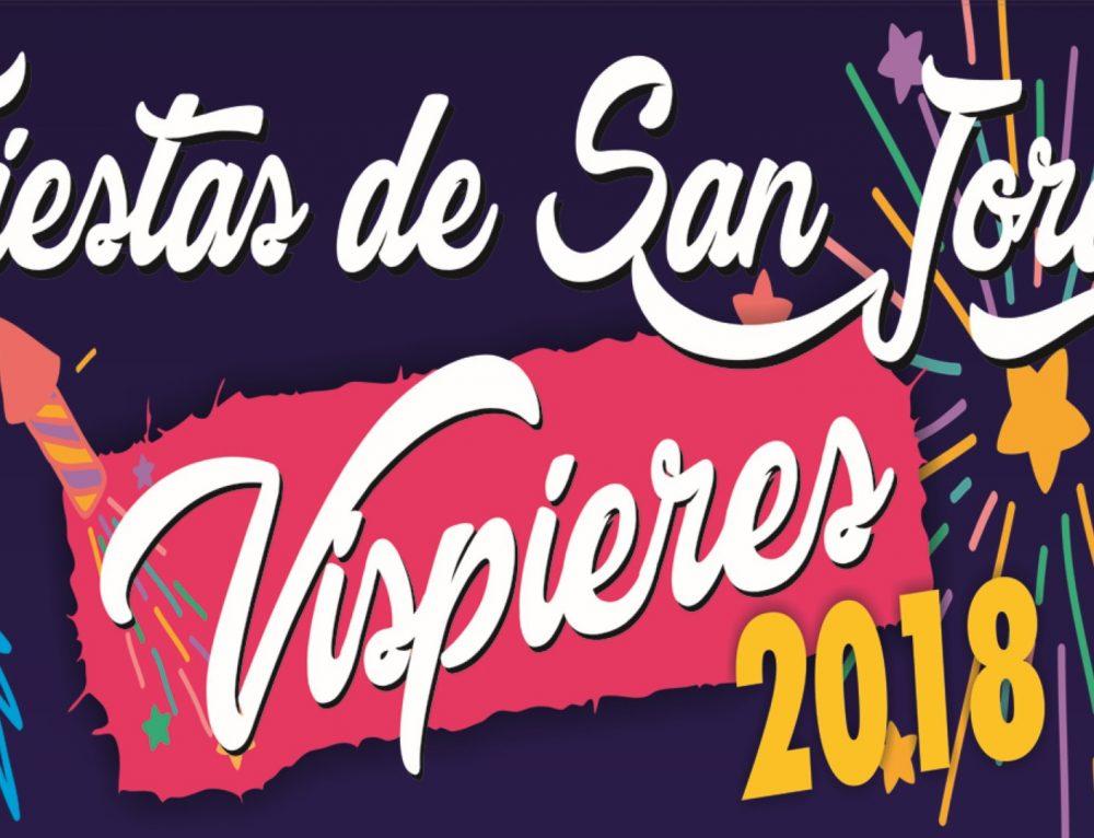 El pueblo de Vispieres celebra del 20 al 23 de abril sus fiestas patronales de San Jorge.