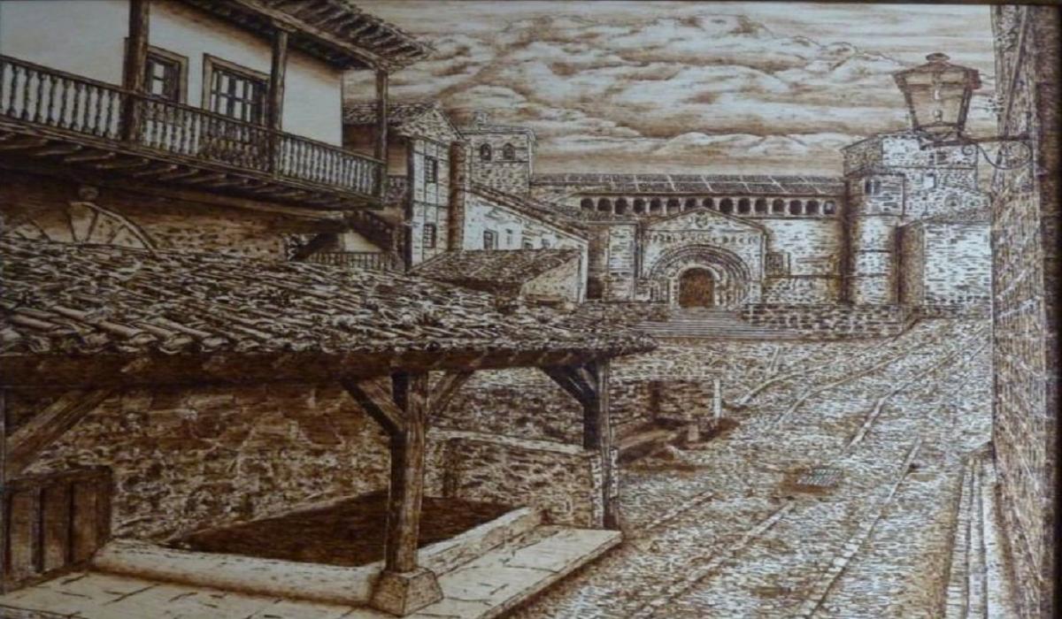 "Ángel Francisco Ariste. ""Lugares de Cantabria"""