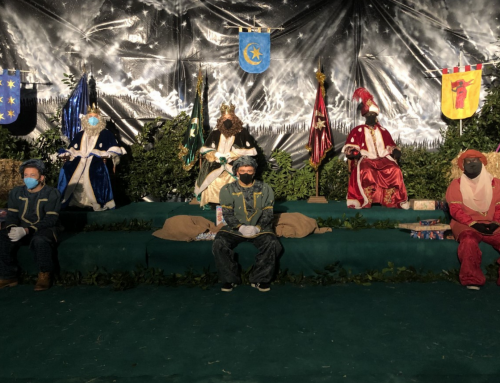Santillana del Mar recibe a los Reyes Magos con todas las medidas de seguridad