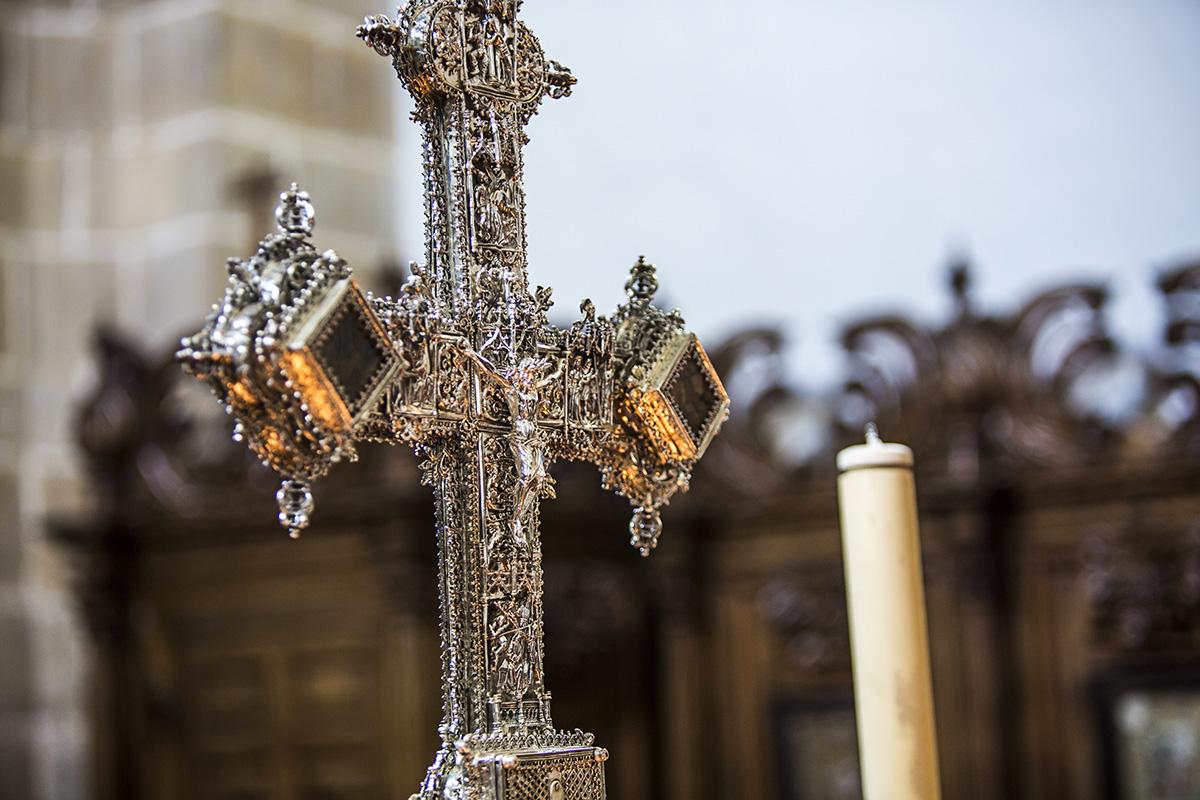 Lignum crucis de la Colegiata de Santillana del Mar