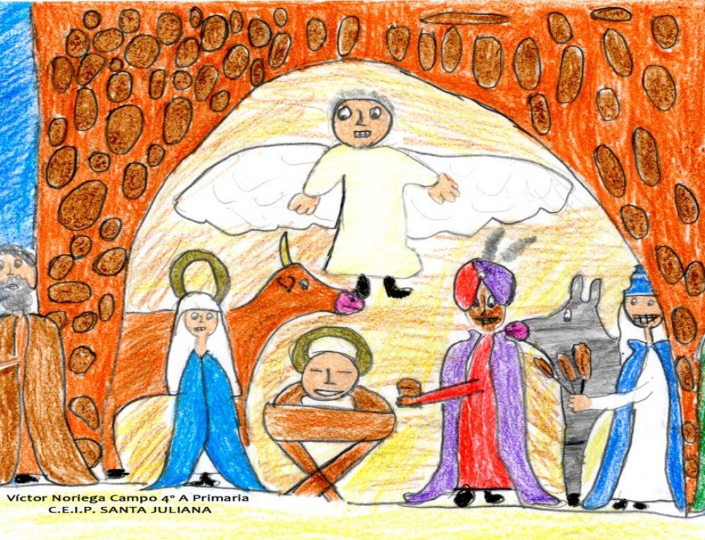 Santillana del Mar inaugura su temporada navideña con la representación del Belén Viviente y con la Ruta de los Belenes.