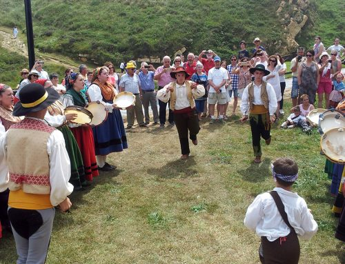 """La localidad de Ubiarco celebra la fiesta patronal de Santa Justa """"La Chica"""""""